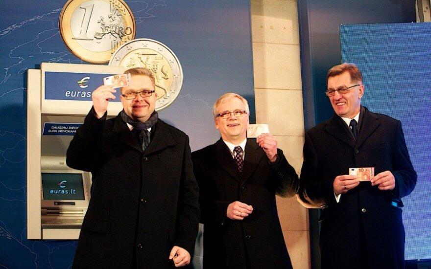 Lietuvoje įvestas euras