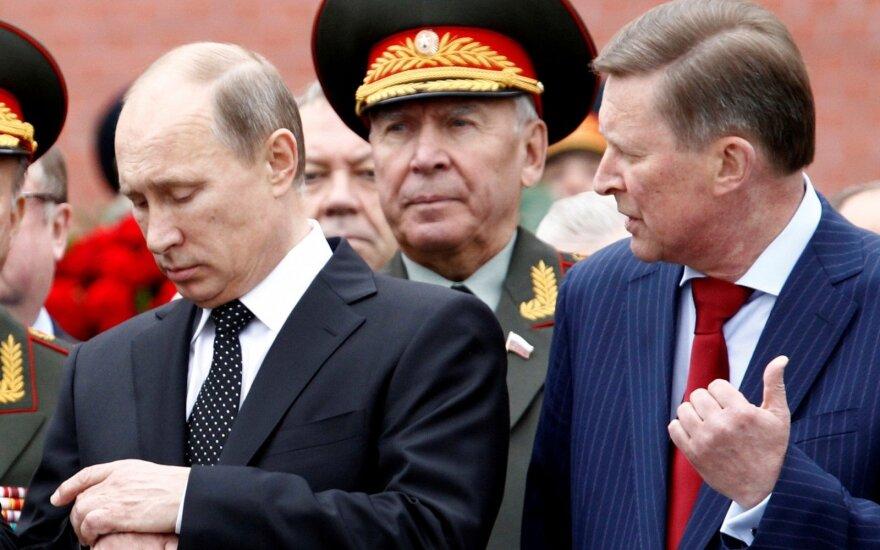 Vladimiras Putinas, Sergejus Ivanovas