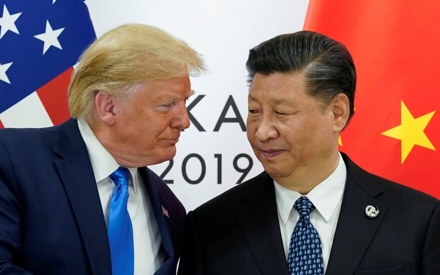 Donaldas Trumpas, Xi Jinpingas