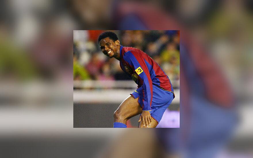 """Samuel Eto'o (""""Barcelona"""")"""