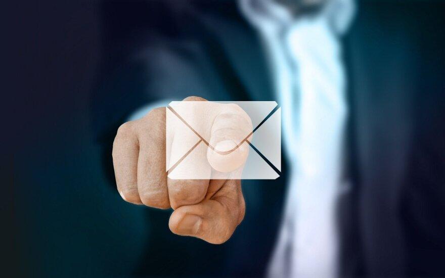 Darbuotojo el. pašto dėžutė – įmonės duomenų apsaugos Achilo kulnas