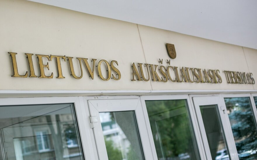 Teisėjas V. Aidukas išleistas dviem savaitėms atostogų