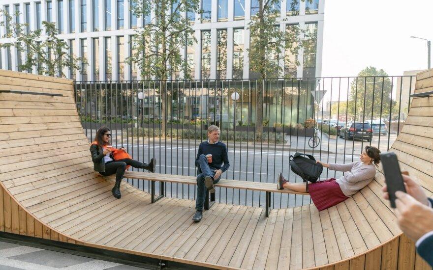 "Vilniaus vadovai lankosi ""DO architects"" projektuose"