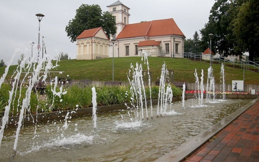 Kėdainiuose fontanų išjungti neskubama