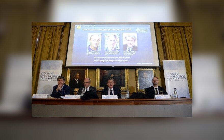 Nobelio premijos laureatai - ekonomika