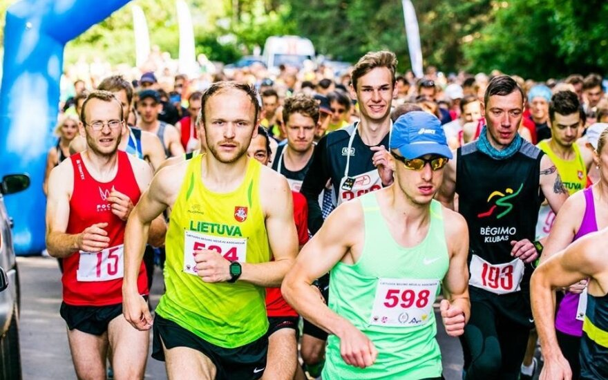 Vilniuje vyks 100 km bėgimo varžybos (Manto Repečkos nuotr.)