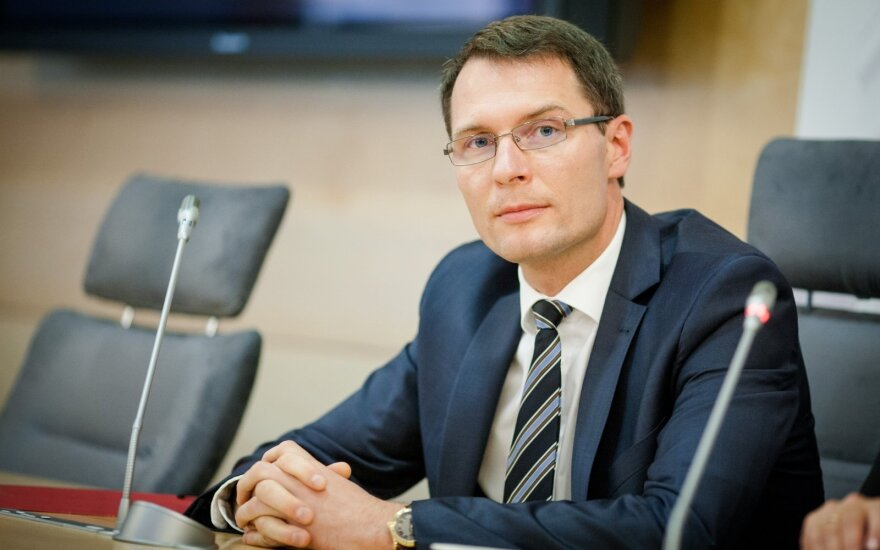Deputy Minister of Interior Elvinas Jankevičius