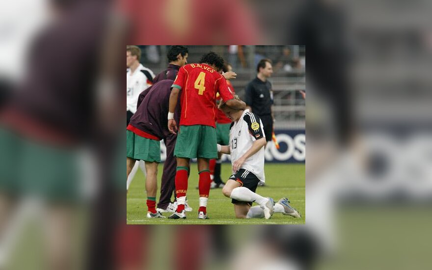 Vokietijos ir Portugalijos jaunimo futbolo rinktinių mačas