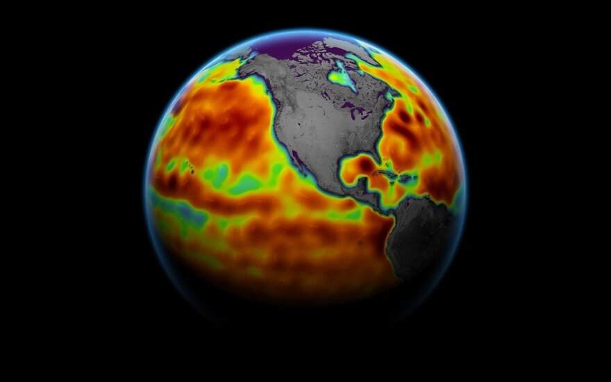 ESA ir NASA palydovai fiksuoja kardinalius pokyčius Žemėje, o tai reiškia nenuspėjamą klimato elgesį.