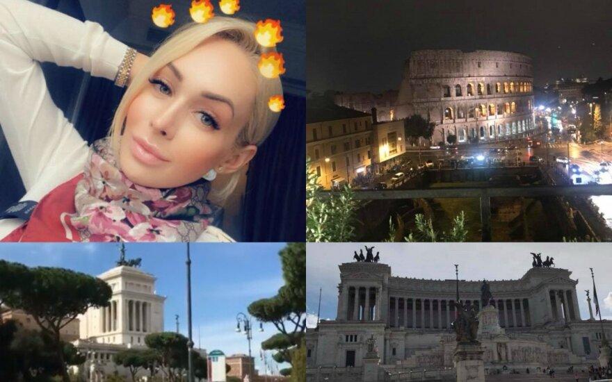 Oksana Pikul-Jasaitienė Romoje