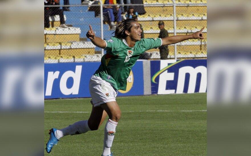 Bolivietis Marcelo Martinsas pelnė įvartį