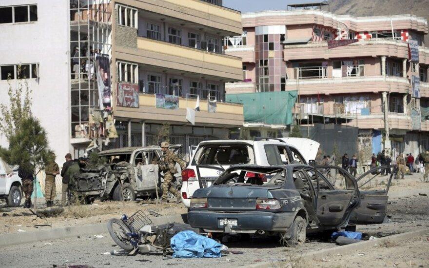Kabule detonavus užminuotam automobiliui žuvo mažiausiai 7 žmonės