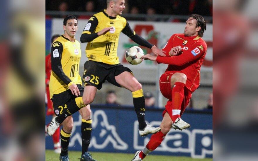 """""""Lille"""" nepasinaudojo proga priartėti prie Prancūzijos čempionato lyderių"""