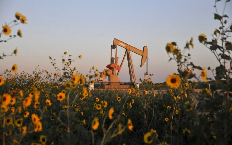 Dėl sumažėjusių JAV atsargų naftos kainos kyla