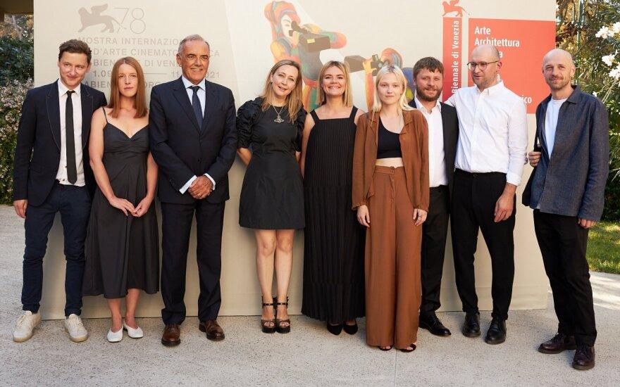 Filmo PILIGRIMAI premjera Venecijos kino festivalyje