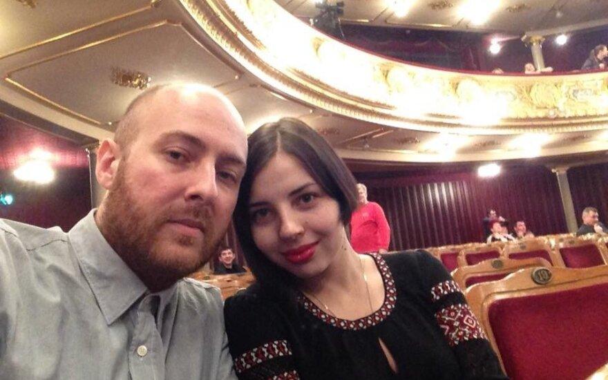 Anastasija Rachmangulova ir Michailas Gerasimeniukas