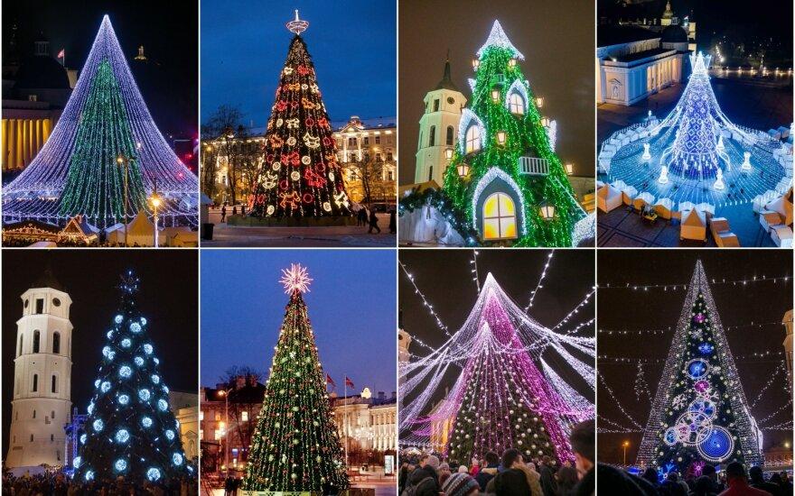 Vilniaus Kalėdų eglės