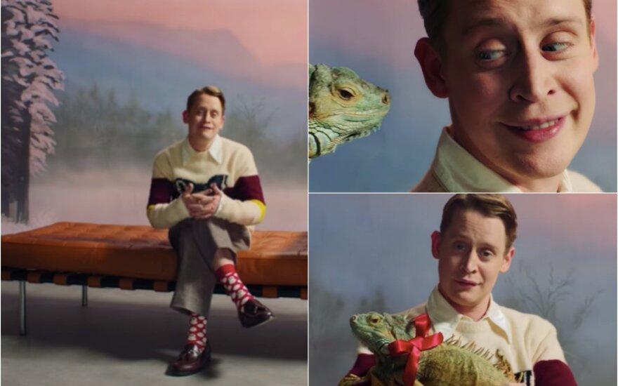 """Macaulay Culkinas """"Happy Socks"""" reklamoje"""