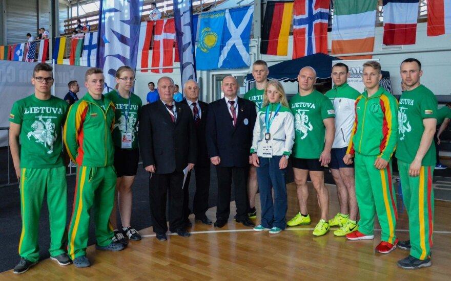 Europos svarsčių kilnojimo čempionate lietuviai iškovojo 22 medalius