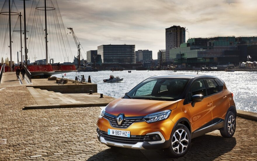 "Modernizuotas ""Renault Captur"""
