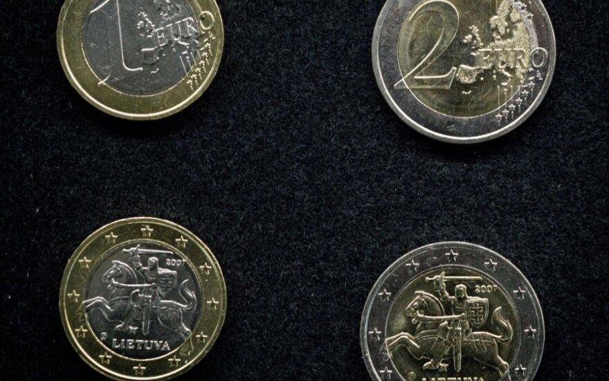 Jau tiki, kad eurą turėsim 2015 m.