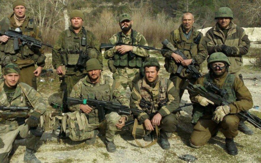 """""""Novaja gazeta"""": rusų kariai samdiniai aptikti netikėtoje vietoje"""