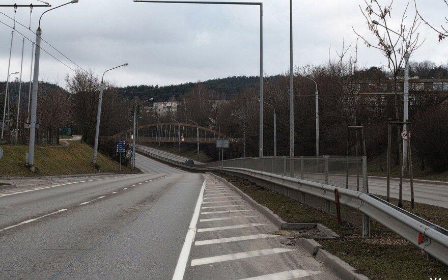 Vilnietis parodė, kaip sostinėje atrodytų naujas viadukas