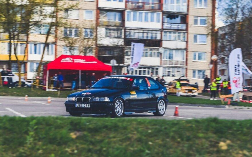 Automobilių slalomo mylėtojai sekmadienį rinksis Panevėžyje