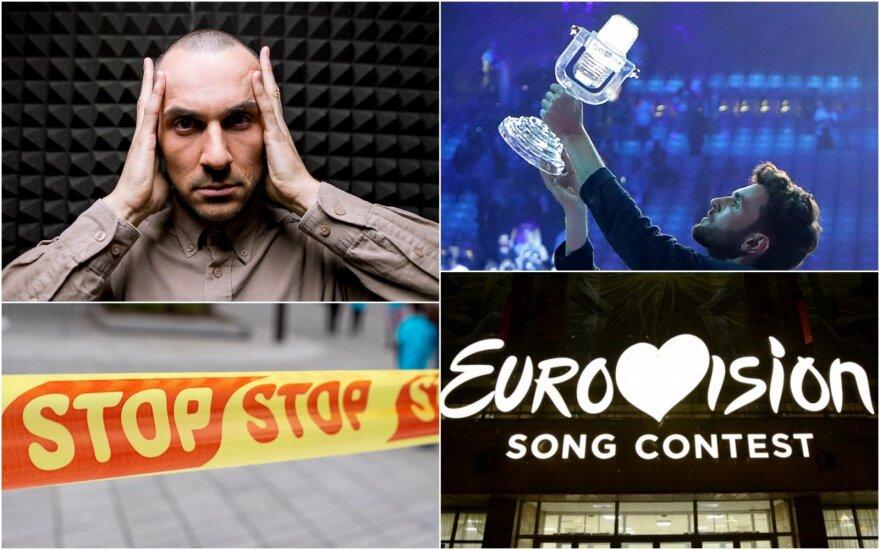 """Atšaukiamas """"Eurovizijos"""" renginys / Foto: Scanpix, Delfi"""