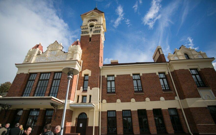 Marijampolės geležinkelio stotis - viena puošniausių Lietuvoje