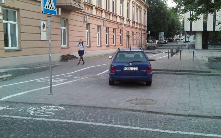 Vilniuje, Vilniaus g. 33. 2011-06-23