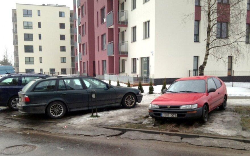 Vilniuje, Bajorų kelias. 2013-04-13