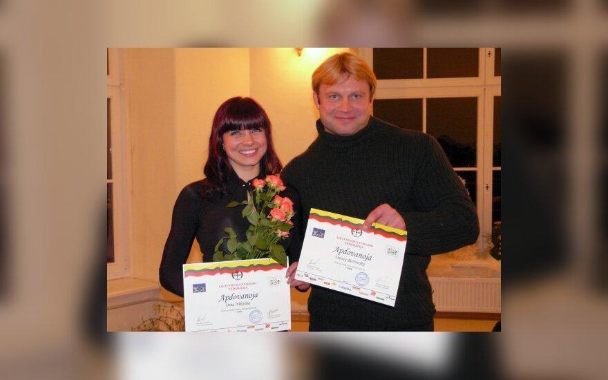 Irina Nikitina ir Dainius Barzinskas