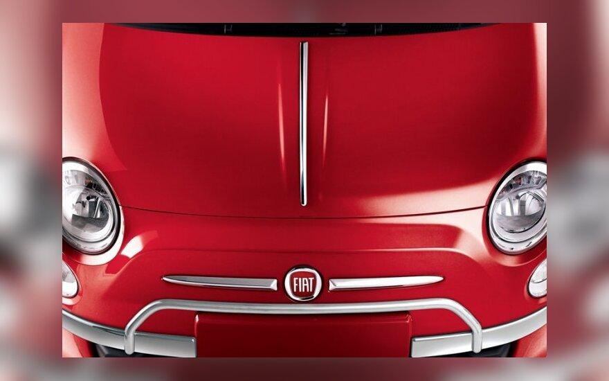 """Fiat"" pristatys naująjį ""500L"""