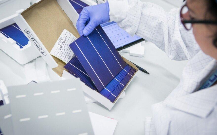 Julius Sakalauskas: ateitis priklauso skaidriems saulės elementams