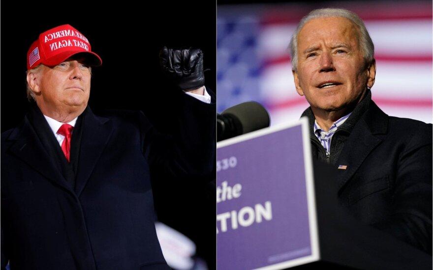 Lithuanians favor Biden over Trump
