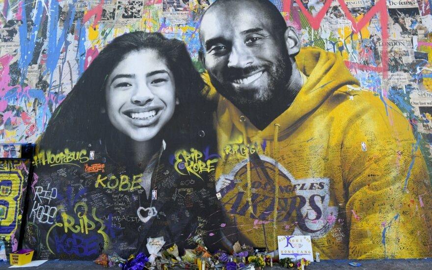 Gianna ir Kobe Bryantas