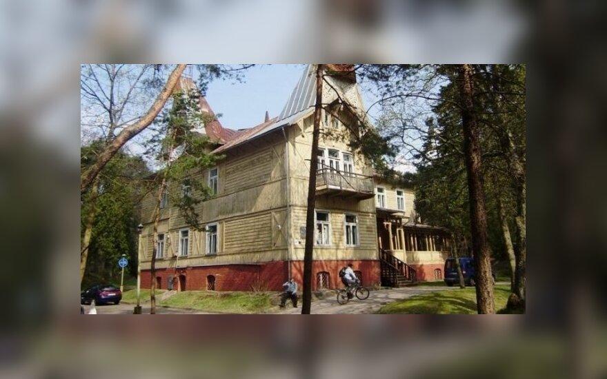 """""""Anapilis"""" Palangoje (Palangos savivaldybės archyv.)"""