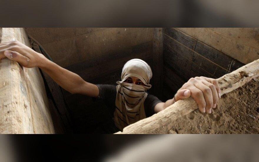 Egiptas tvindo tunelius į Gazą