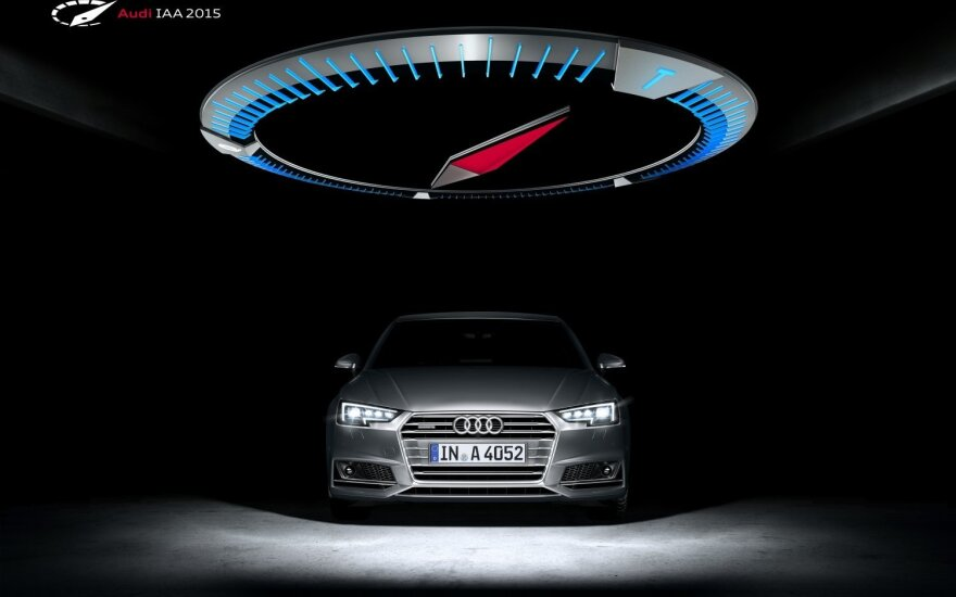 Audi naujiena