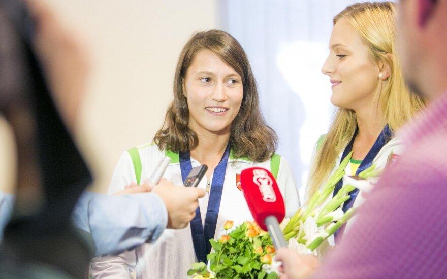 Lina Batulevičiūtė ir Emilija Serapinaitė