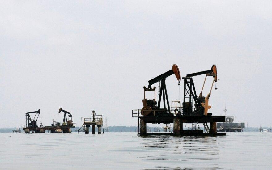 """""""Goldman Sachs"""" nustatė naftos kainų augimo """"lubas"""""""