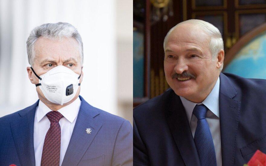 Nausėda: mano Baltarusijai pasiųstas signalas buvo labai aiškus