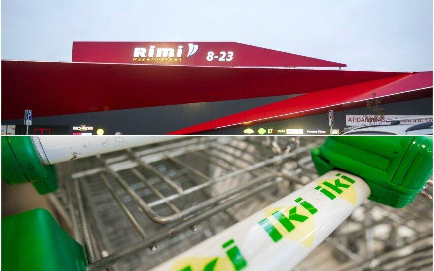 """""""Rimi"""" ir """"Iki"""" skirtos tūkstantinės baudos už kainų neatitikimą ir skelbtų nuolaidų netaikymą"""