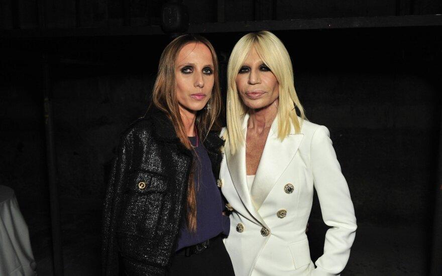 Allegra Versace su mama