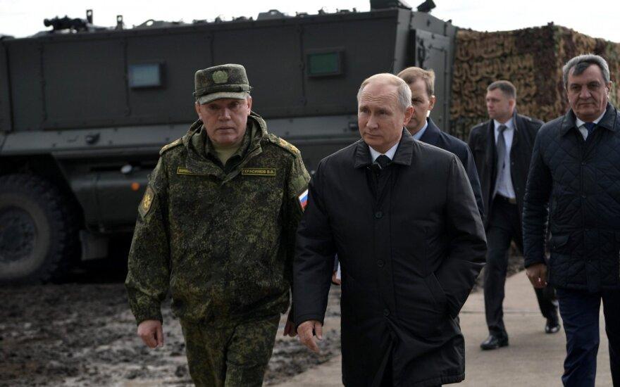 Valerijus Gerasimovas, Vladimiras Putinas