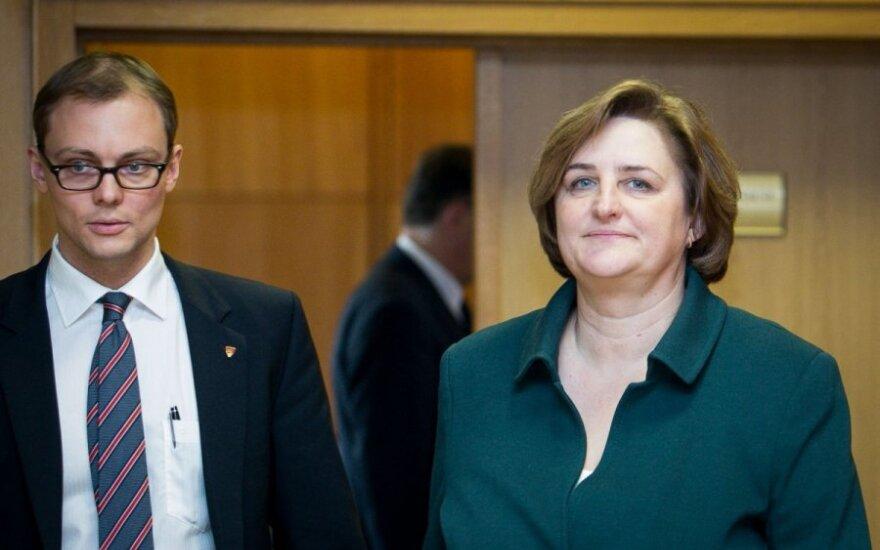 Mantvydas Bekešius ir Loreta Graužinienė