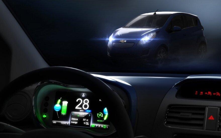 Elektrinis Chevrolet Spark