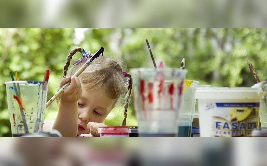 Socialiai remtinų vaikų džiaugsmas – stovykla
