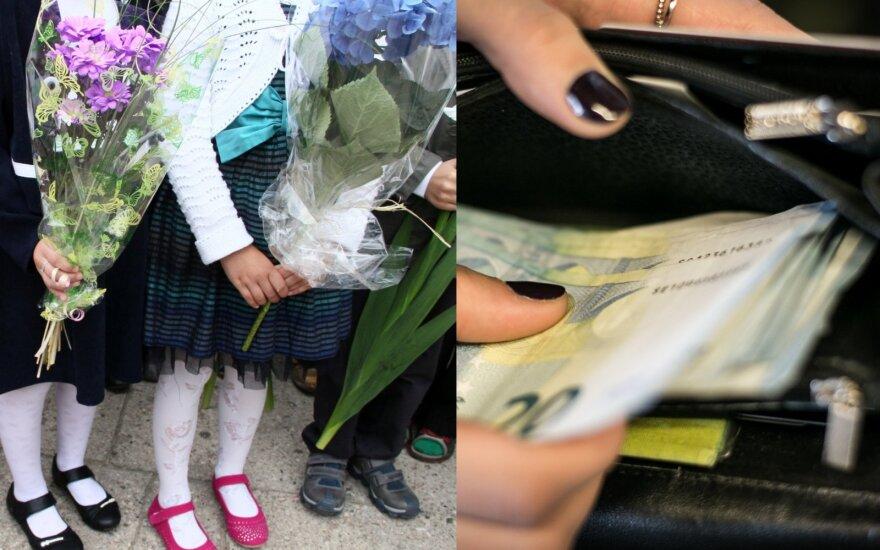 Mama naujų mokslo metų laukia su siaubu: mus šokiravo, kiek kainuos pirmoko laikas mokykloje